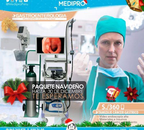 Gastroenterología Paquete Navideño.