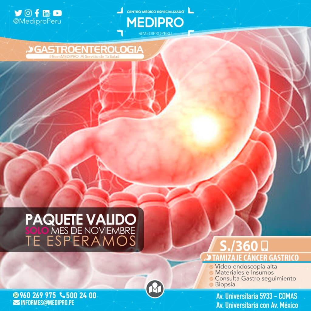 Gastroenterología / Promoción mes de Noviembre Comas 2020