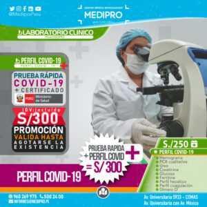 Perfil COVID-19, Exámenes de sangre para detectar presencia del COVID-19