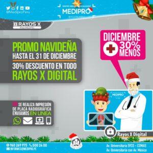 Rayos X Digital 30%Menos