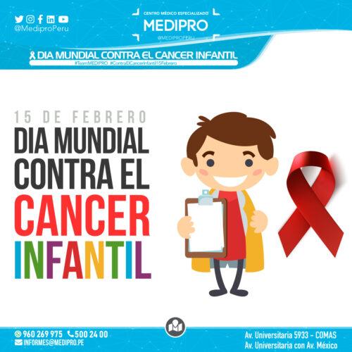 15 de Febrero Dia Internacional del Niño con cáncer