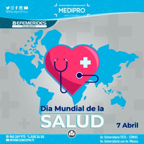 7 de Abril Dia mundial de la salud